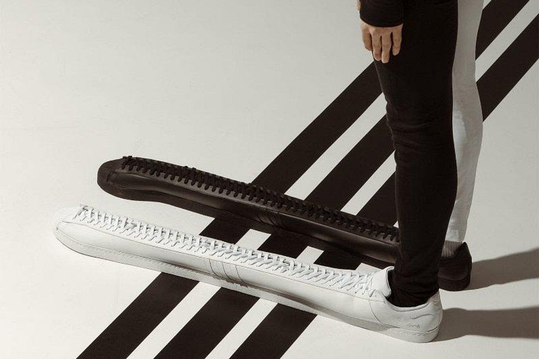 Die größten adidas Originals der Welt