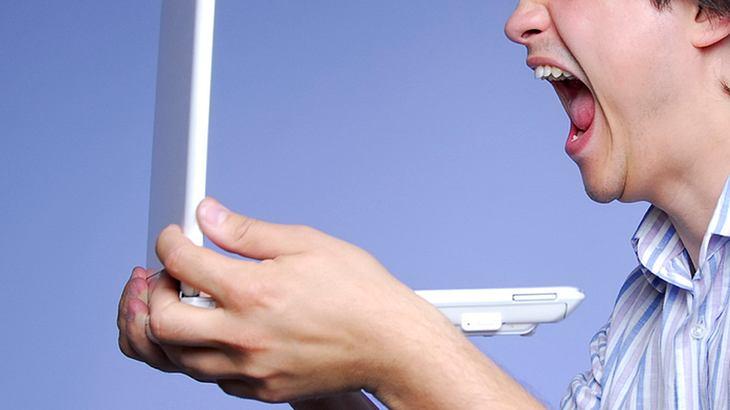 19-Jähriger läuft wegen langsamen Internet amok