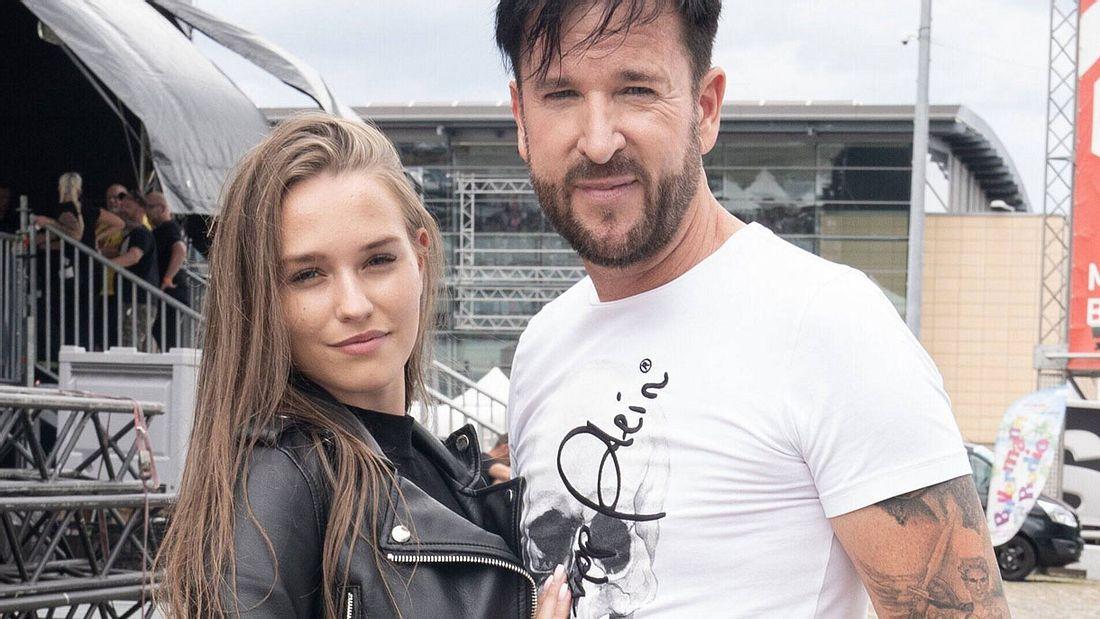 Laura Sophie Müller und Michael Wendler