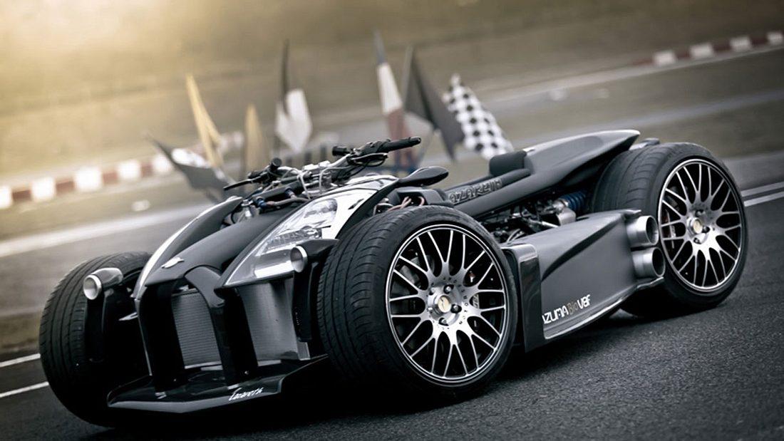 Lazareth Wazuma V8F: Extrem-Quad mit Ferrari-Motor