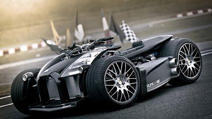 Lazareth Wazuma V8F: Extrem-Quad mit Ferrari-Motor - Foto: lazareth