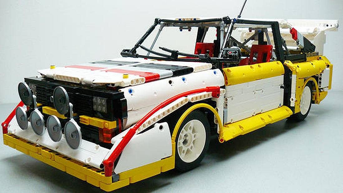 Audi Sport Quattro: Mann baut Kult-Auto aus LEGO nach