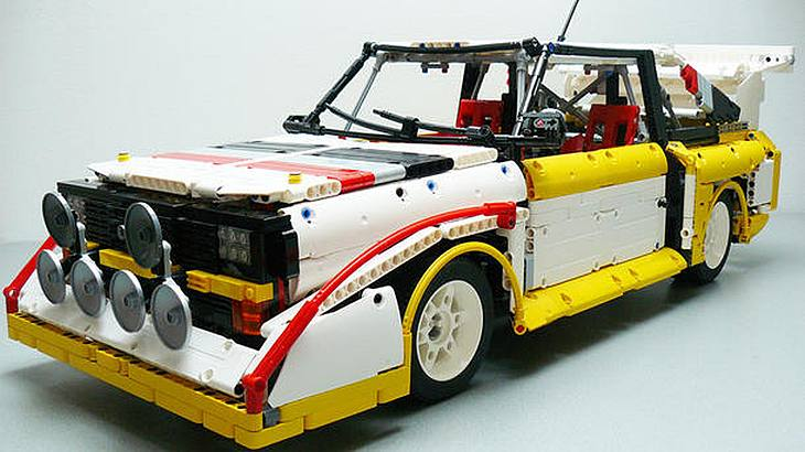 audi sport quattro mann baut kult auto aus lego nach m nnersache. Black Bedroom Furniture Sets. Home Design Ideas