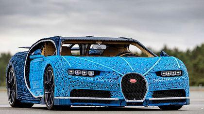 Lebensgroßer Bugatti Chiron aus Lego begeistert das Netz - Foto: Lego