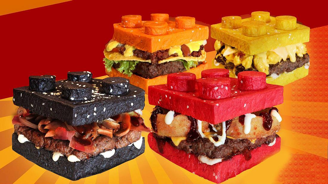 Brick Burger: Es gibt jetzt Burger im LEGO-Format