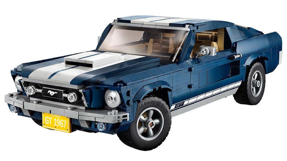 Lego bringt legendären Mustang GT als Bausatz