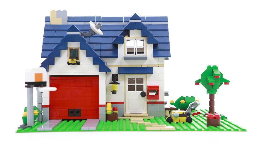 Ab jetzt kannst du einen exakten LEGO-Nachbau deines Hauses kaufen - Foto: iStock / AngiePhotos