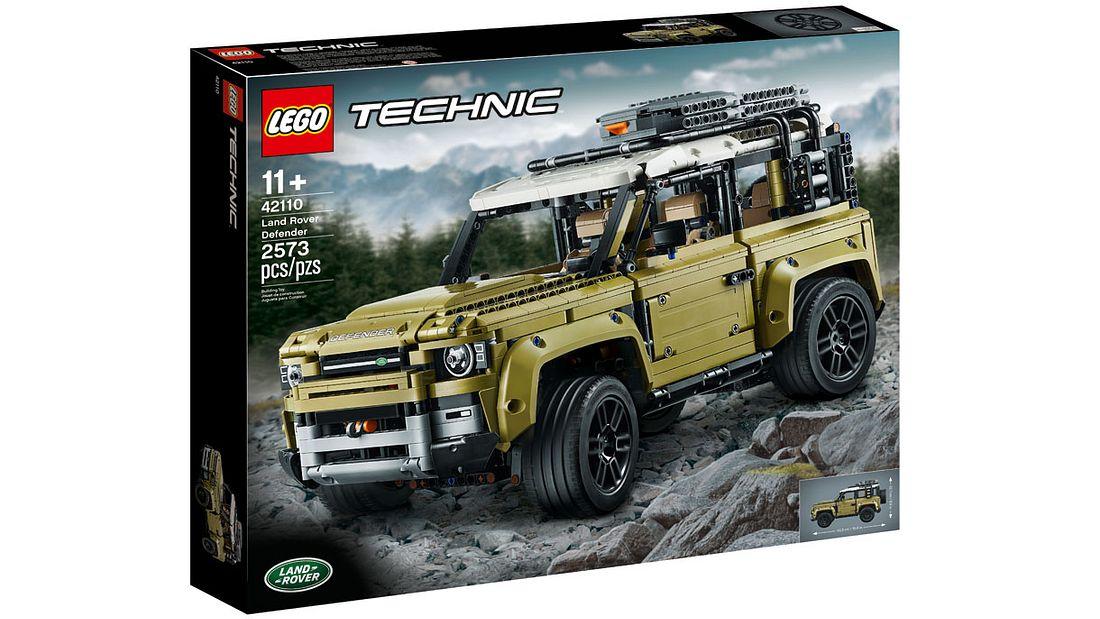 Lego-Box des Land Rover Defender