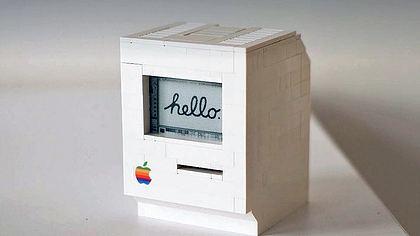 Mann baut LEGO-Macintosh – und er funktioniert!