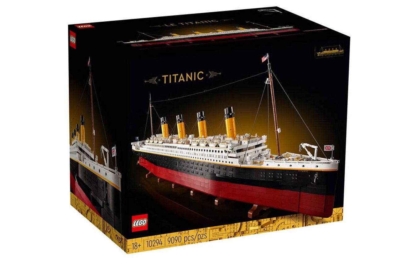 Die Titanic als Lego-Bausatz