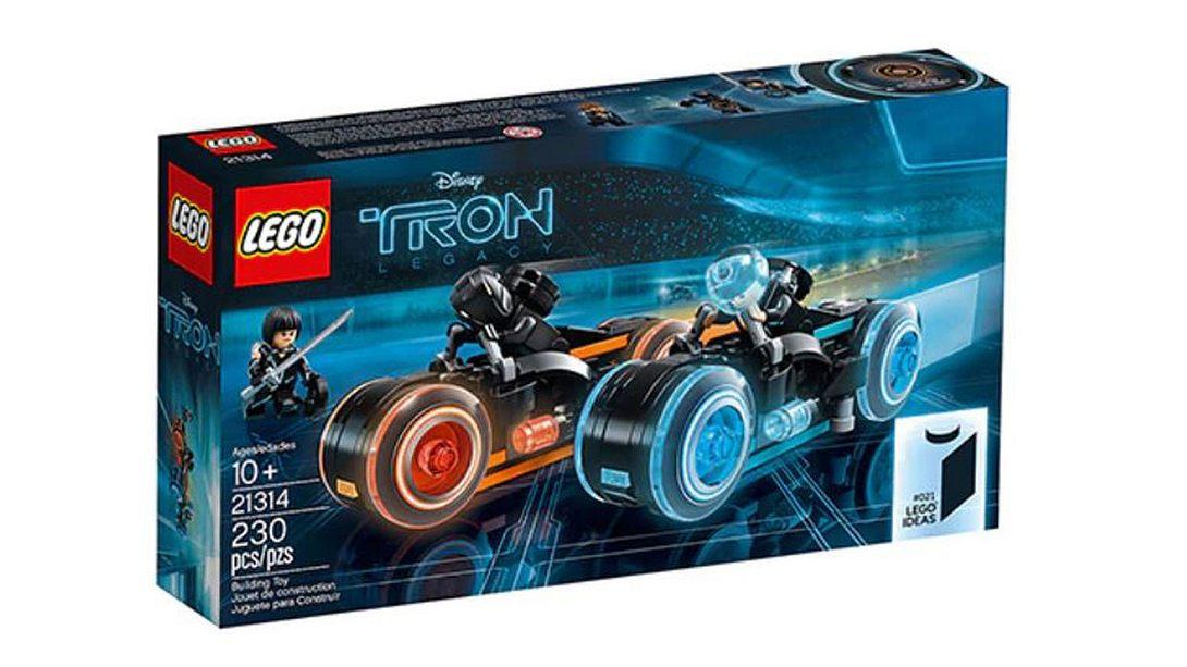 LEGO TRON-Legacy-Set - Foto: LEGO