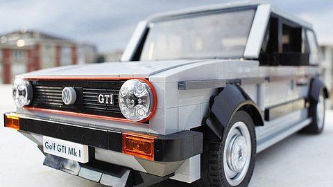 VW Golf 1 GTI - Das Kultauto als Lego-Bausatz