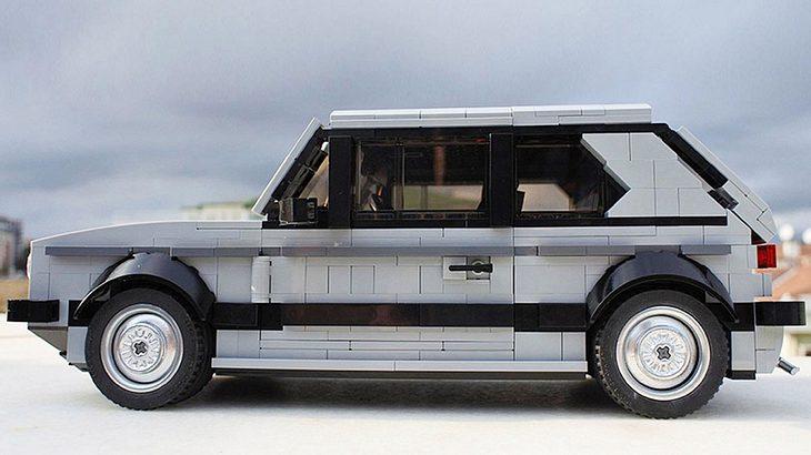 Der Lego-Bausatz des Golf 1 GTI besteht aus 1278 Teilen