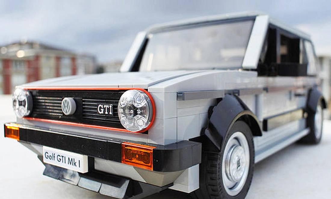 Bald im Handel? VW Golf 1 GTI als Lego-Bausatz