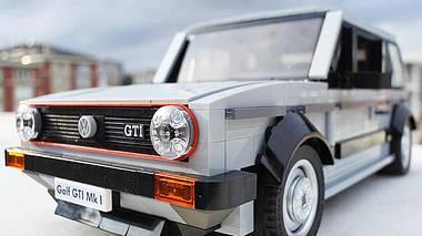 Bald im Handel? VW Golf 1 GTI als Lego-Bausatz - Foto:  Lego / Hasan Kabalak