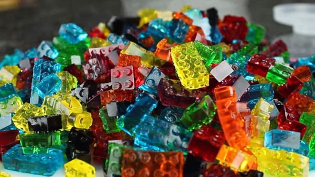 Ein Rezept für LEGO-Weingummi