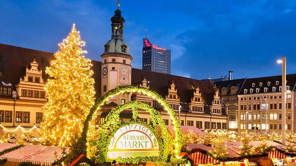 Die 3 besten Weihnachtsmärkte in Leipzig