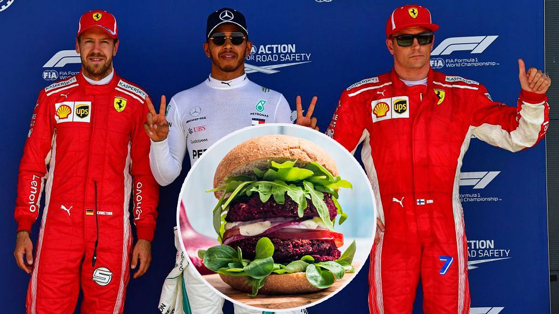 Formel-1-Star investiert in Veggie-Burger-Kette (Collage)