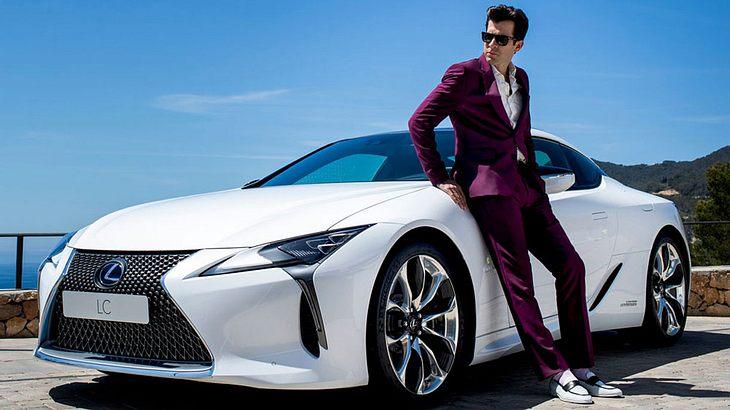 Muskproduzent Mark Ronson ist Markenbotschafter für den neuen Lexus LC