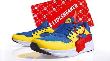 Der limitierte Sneaker von Lidl - Foto: LIDL