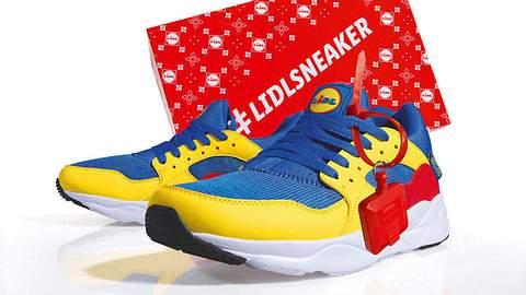 Lidl bringt limitierten Sneaker auf den Markt