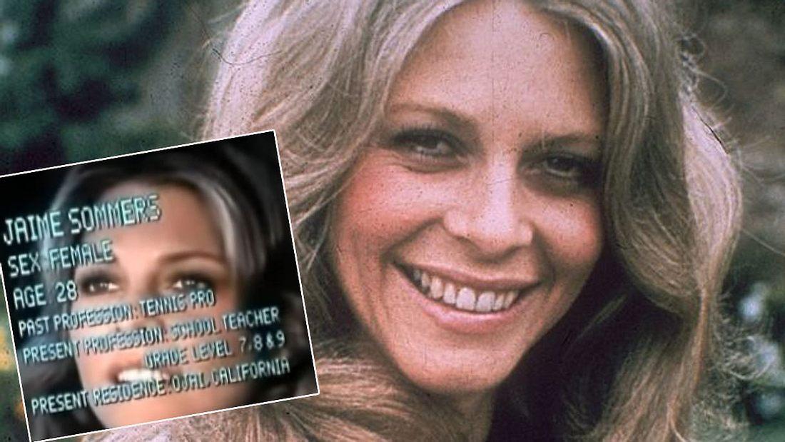 Lindsay Wagner war Die Sieben-Millionen-Dollar-Frau (Collage).