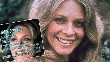 Lindsay Wagner war Die Sieben-Millionen-Dollar-Frau (Collage). - Foto: Getty Images/Hulton Archive, YouTube/ilovetvintros