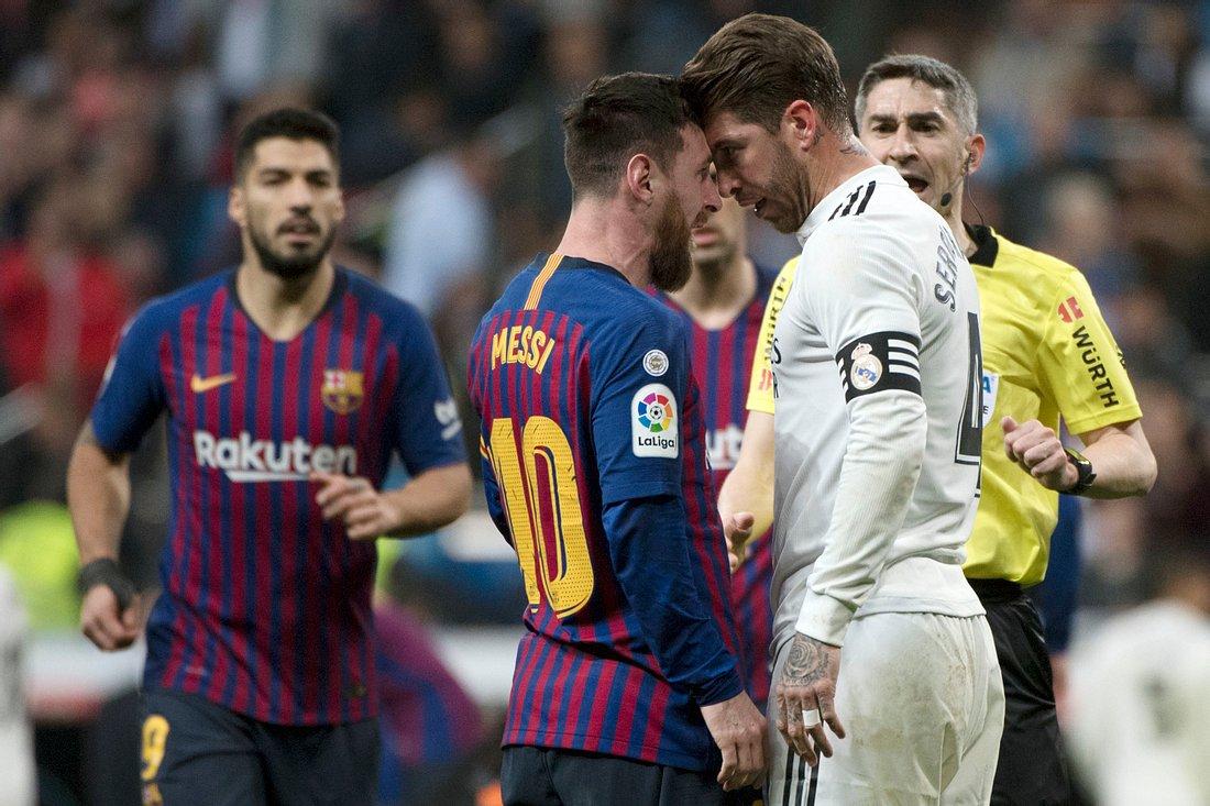 Lionel Messi und Sergio Ramos