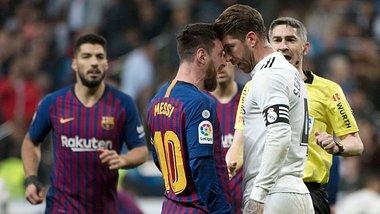 Lionel Messi und Sergio Ramos - Foto: Getty Images / CURTO DE LA TORRE