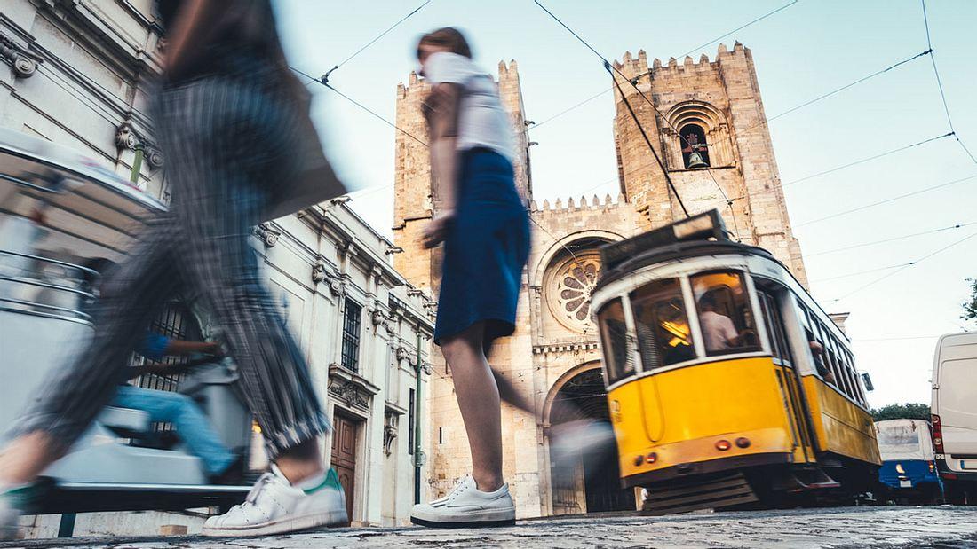 Lissabon begeistert Millionen Touristen alljährlich.
