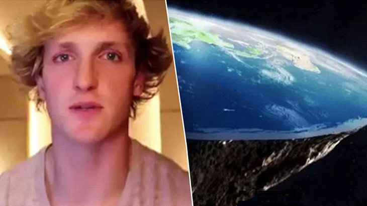 Logan Paul ist ein Flat Earther