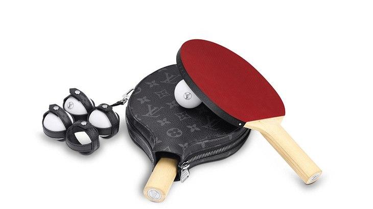 Tischtennis-Set von Louis Vuitton