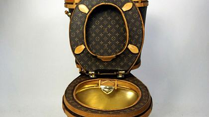 Diese Toilette von Louis Vuitton kostet 100.000 US-Dollar - Foto: Illma Gore