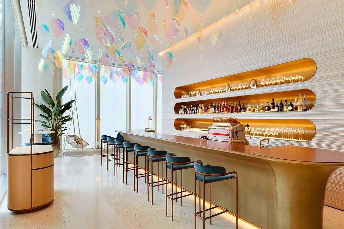 Louis Vuittons Restaurants und Bar in Osaka