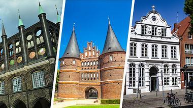 Lübecker Sehenswürdigkeiten - Foto: iStock / querbeet / chris-stein / pictorius (Collage Männersache)