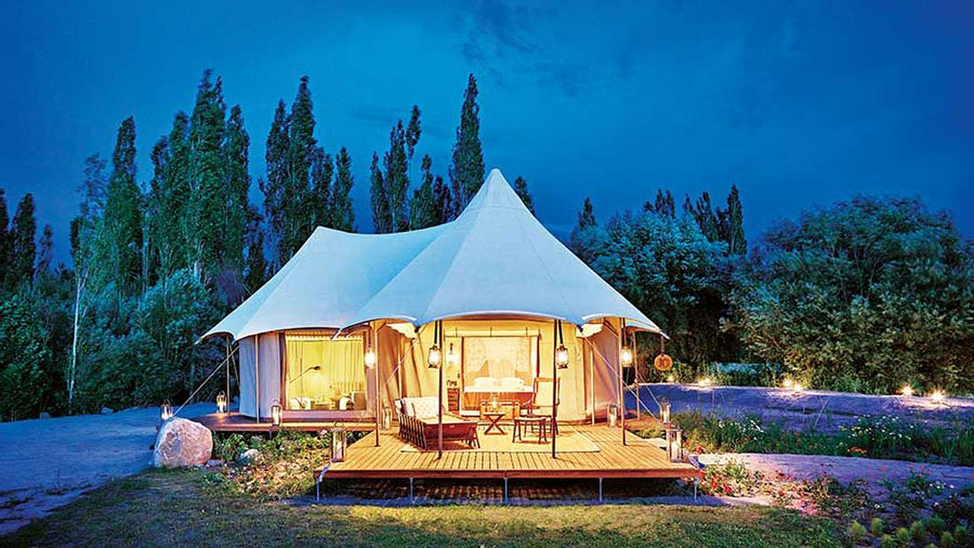 Luxus-Camping-Trips