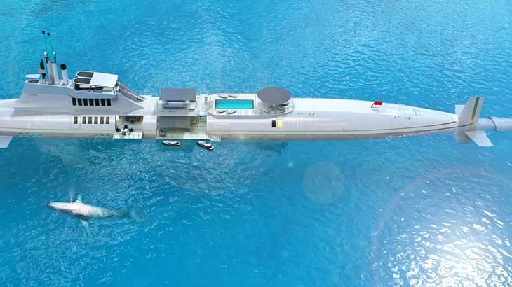 Luxus-Privat-U-Boot M7: Neuer Trend für Superreiche?