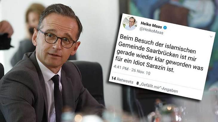 Tweet von Heiko Maas wurde gelöscht
