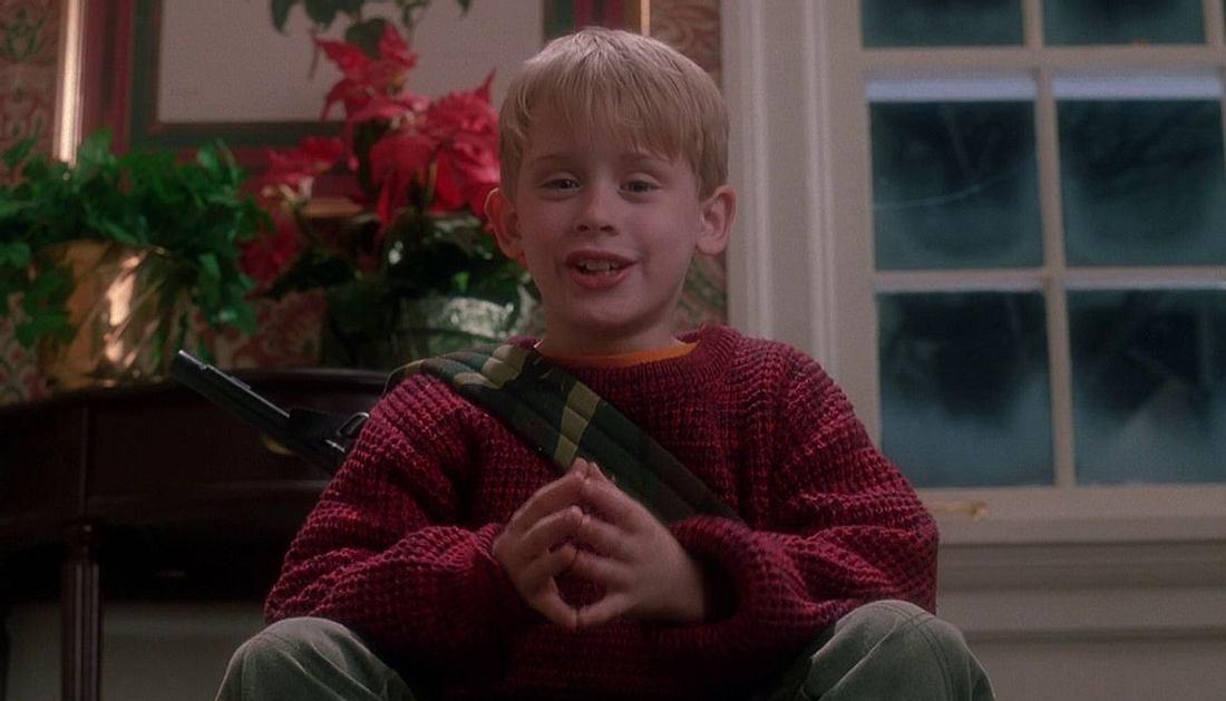 Macaulay Culkin in Kevin: Allein zu Haus