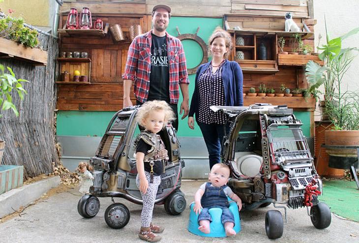 Mad Max: Dieser Vater hat die Autos aus Mad max als Spielzeuge nachgebaut