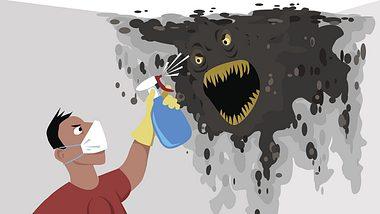 Studie warnt: Putzen ist für Männer viel zu gefährlich