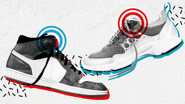 Sneaker, oberstes Schnürloch - Foto: iStock / chictype & wuviveka