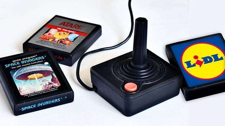 Die Spiele der Atari Flashback 8 Gold HD Retro Spielekonsole.