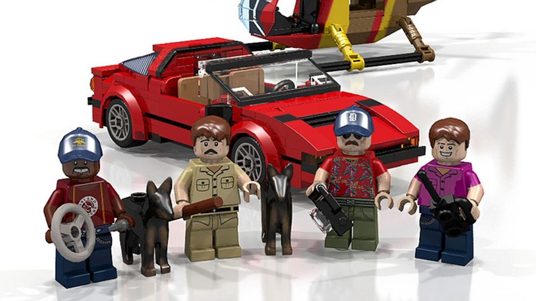 Magnum: Coole Serienhelden als LEGO-Bausatz - Foto: Lego