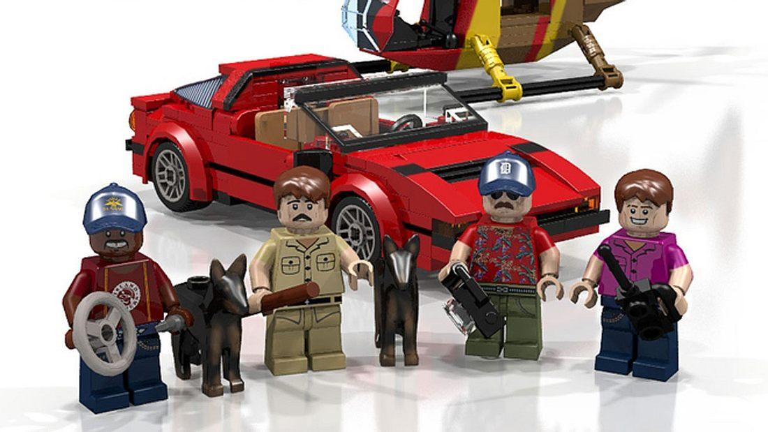 Magnum: Coole Serienhelden als LEGO-Bausatz