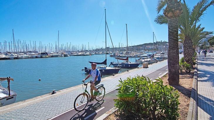 Mit dem Fahrrad in Palma starten