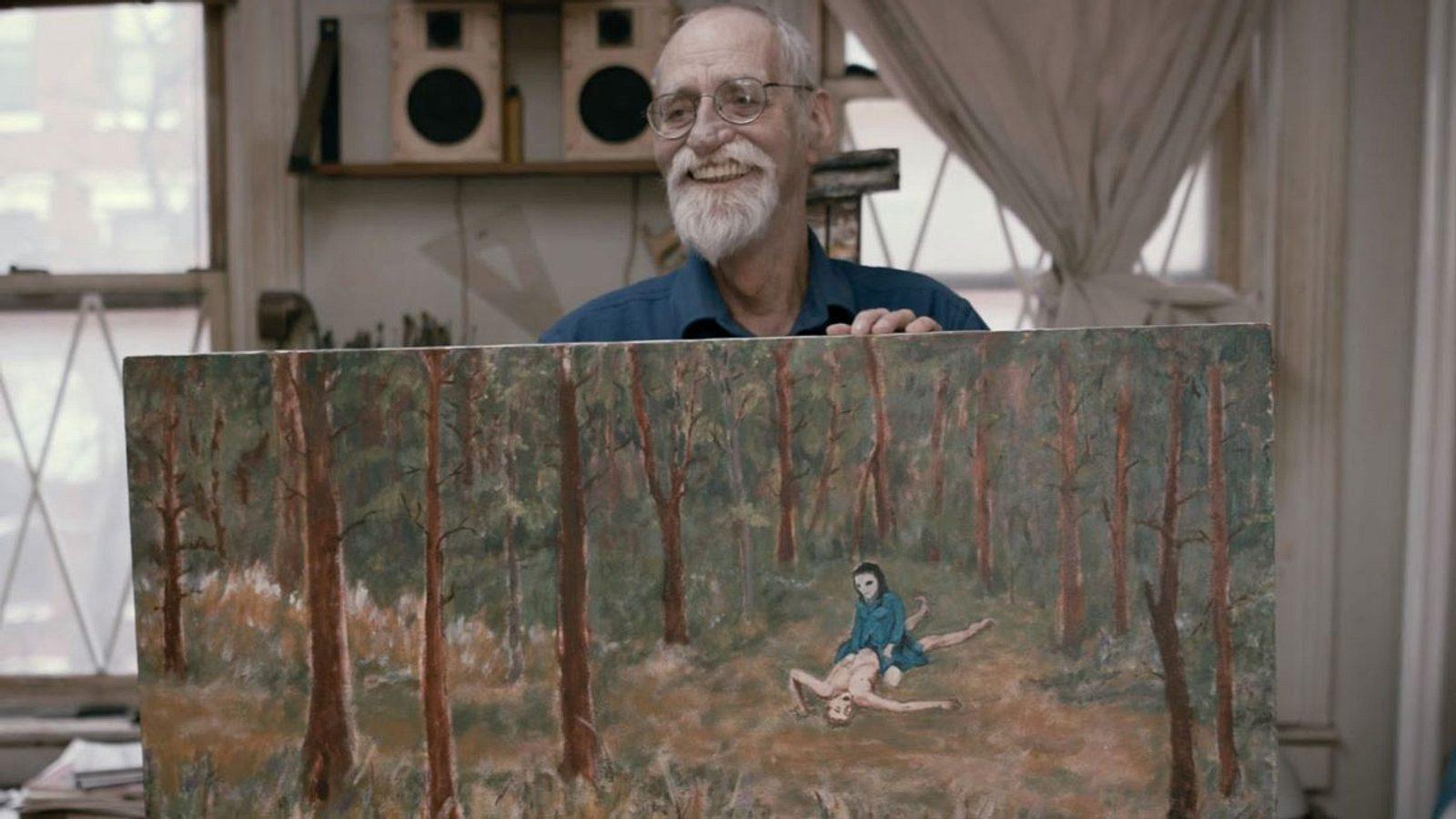 Dieser Mann hatte Sex mit Aliens – jetzt malt er darüber Bilder