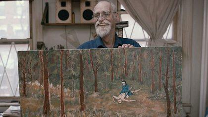 David Huggins und seine Kunst - Foto: Vimeo / Brad Abrahams