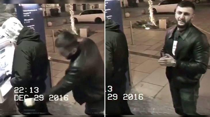 Dieser Mann stiehlt ein Portemonnaie, dann entdeckt er die Überwachungskamera