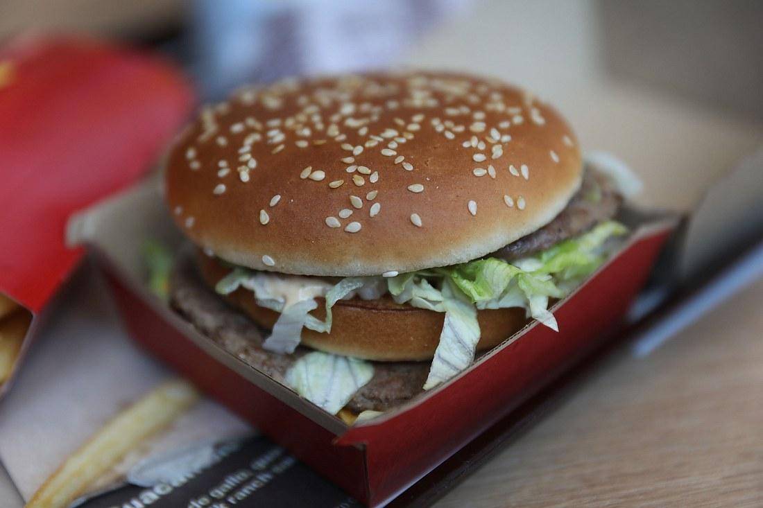 Big Mac von McDonalds im Porträt